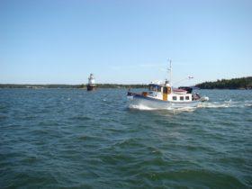 Goose Rocks Light in the Fox Islands Thorofare (2008)