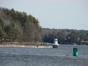 Doubling Point Light on the Kennebec River in Arrowsic (2009)