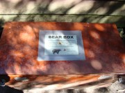 Bear Box at Speck Pond Campsite on the Appalachian Trail in Ripley (2009)