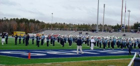 University of Maine Marching Band at Morse Field in Orono (2009)