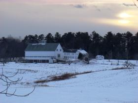 Sunset at Merriconegan Farm (2011)
