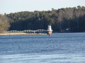 Doubling Point Light in Arrowsic on the Kennebec River (2010)