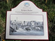 "sign"" ""Rockport Harbor"" with photo and details (2010)"