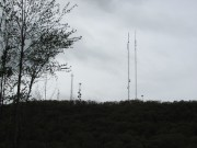 Communications towers on Peaked Mountain (2010)