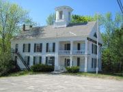 Limington Academy Building in Limington Village (2010)