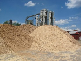 Wood Chips to be Processed (2010)