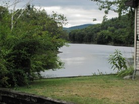 Androscoggin River from Route 2 in Rumford Center (2010)