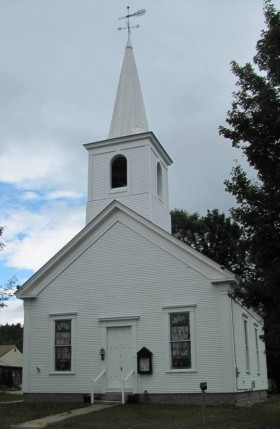 Methodist Church in Rumford Center (2010)