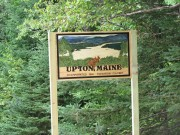 "sign: ""Upton, Maine, Incorporated 1860 Elevation 1735 Feet"" on Route 26 (2010)"