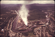 Oxford Paper Company Mill 1973, U.S. EPA Photo