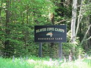 "Sign: ""Beaver Cove Camps"" (2011)"