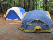Photo: Tents at Lily Bay (2011)