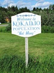 """""""Welcome to Kokadjo, Population 'not many'"""""""