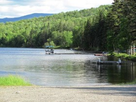 Boats and Docks on First Roach Pond