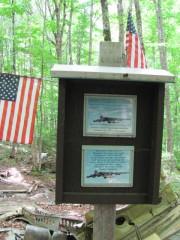 Debris and Memorial at the Site (2011)