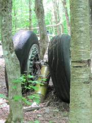 Landing Wheels at the Crash Site (2011)