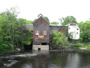 Old mill in Downtown Dover-Foxcroft