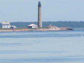 Petit Manan Lighthouse on Petit Manan Island (2011)