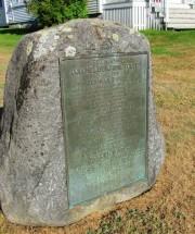 Benjamin Foster Historic Marker (2011)