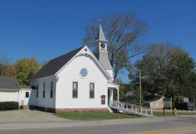 Free Baptist Church in East Waterboro (2011)