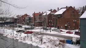 Cobbosseecontee Stream in Downtown Gardiner (2012)