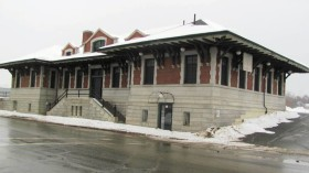 Old Train Station in Gardiner (2012)