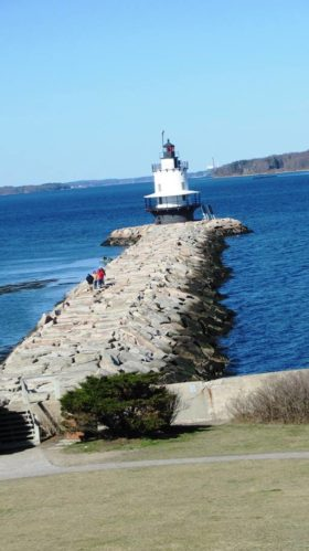Spring Point Ledge Light in South Portland (2012)