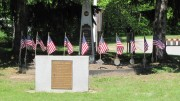 Veterans Memorial near the Commons (2012)