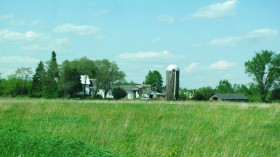 Farmhouse and Silo in Herseytown (2012)
