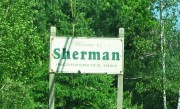 "Sign: ""Welcome to Sherman"" (2012)"