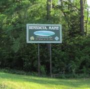 sign: Benedicta Maine