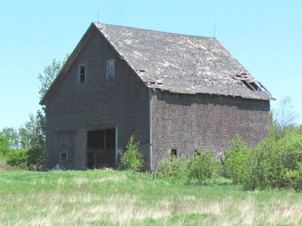 Old Barn in Sherman (2012)