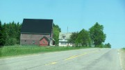 Barn and House in Sherman (2012)
