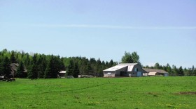 Amish Barn and Pasture on U.S. Rt. 2 in Smyrna (2012)