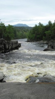 West Branch of the Penobscot River on the Telos Road