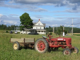 Farmhouse and Tractor (2012)