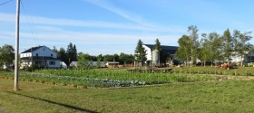 "Farm with Productive Garden N46° 7' 44.5"" W68° 6' 49.8"""