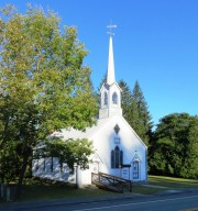 Church in Hiram Village (2012)