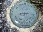Geodetic Survey Marker at Bell Hill (2012)