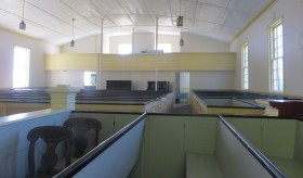 Bell Hill Meetinghouse Interior (2012)