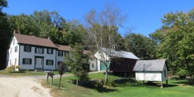 Scribner Homestead near the Mill (2012)