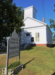 Mechanic Falls Historical Society and Congregational Hall (2012)