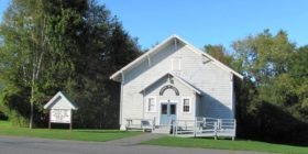 Church of Christ on the Waterville Road (2017)