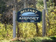 sign: Belfast Airport (2012)