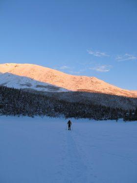Hiking Baxter Park, Winter 2012