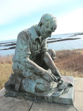 """Sculpture to """"All Maine Fishermen"""" (2013)"""