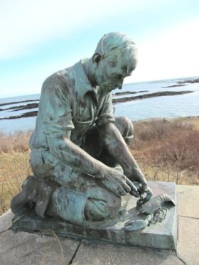 "Sculpture to ""All Maine Fishermen"" (2013)"