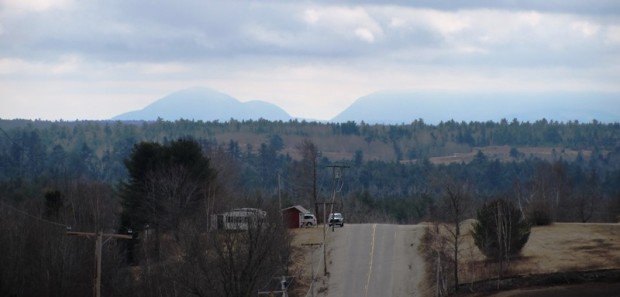 Distant Mountains from Route 200 near the Franklin Town Line (2013)