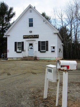 Mariaville Town Office on Route 181
