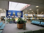 Terminal Interior at Bangor International Airport (2013)